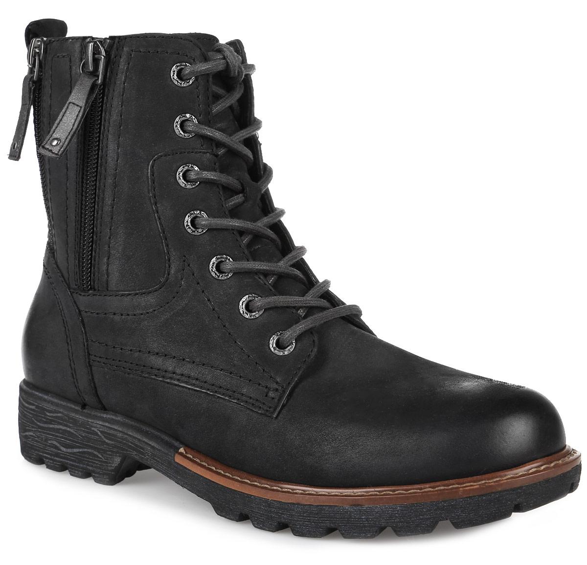 8-8-25212-27-001Стильные женские ботинки от Jana заинтересуют вас своим дизайном с первого взгляда! Модель выполнена из натуральной кожи. Подкладка из текстиля и стелька из материала ЭВА с текстильной поверхностью комфортны при движении. Классическая шнуровка надежно зафиксирует модель на ноге. Боковая застежка-молния позволяет легко снимать и надевать модель. Подошва и каблук с рифлением обеспечивают отличное сцепление с любой поверхностью. Застежки-молнии, расположенные на голенище, позволяют отрегулировать его объем.