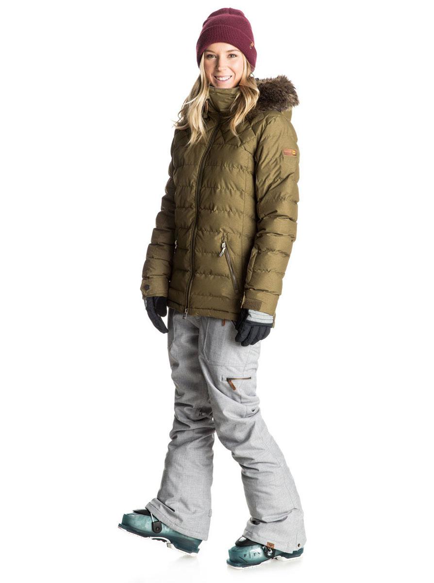 Брюки утепленныеERJTP03026-SLA0Женские брюки для сноуборда с утеплителем Warmflight (40 г). Подкладка из легкой тафты. Критические швы проклеены. Утяжки в районе талии. Система пристегивания куртки к штанам. Система утяжки краев штанин (предотвращает износ и загрязнение). Штанины со вставкой на кнопке. Вентиляция за счет сеточных вставок. Штанины с гейтерами из тафты. Холдер для скипасса.