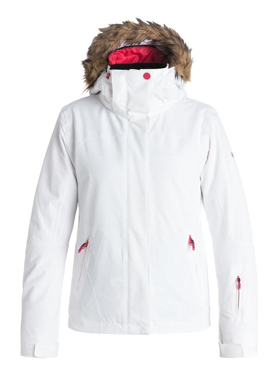 КурткаERJTJ03056-WBB0Женская куртка для сноуборда выполнена из полиэстера с утеплителем Warmflight (тело 120 г, рукава 100 г, капюшон 60 г). Подкладка из тафты со вставками из трикотажа с начесом. Критические швы проклеены. Съемный капюшон регулируется тремя способами. Съемная оторочка капюшона из искусственного меха. Фиксированная противоснежная юбка из тафты с удобными кнопками. Система пристегивания куртки к штанам. Подкладка в районе подбородка. Куртка дополнена нагрудным карманом, внутренним медиакарманом, внутренним карманом для маски, брелоком для ключей. Лайкровые гейтеры в рукавах. Кармашек для скипасса на рукаве. Сеточная вентиляция подмышками. Карманы с теплой подкладкой.