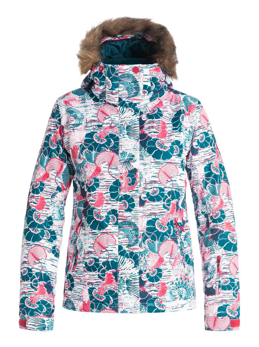 КурткаERJTJ03053-BSK9Женская куртка для сноуборда выполнена из полиэстера с утеплителем Warmflight (тело 120 г, рукава 100 г, капюшон 60 г). Подкладка из тафты со вставками из трикотажа с начесом. Критические швы проклеены. Съемный капюшон регулируется тремя способами. Съемная оторочка капюшона из искусственного меха. Фиксированная противоснежная юбка из тафты с удобными кнопками. Система пристегивания куртки к штанам. Подкладка в районе подбородка. Куртка дополнена внутренним медиакарманом, внутренним карманом для маски, брелоком для ключей. Лайкровые гейтеры в рукавах. Кармашек для скипасса на рукаве. Сеточная вентиляция подмышками. Карманы с теплой подкладкой.