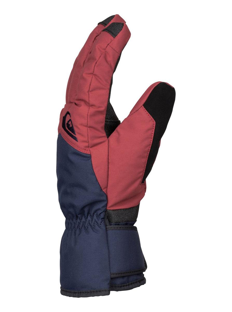 ПерчаткиEQYHN03051-GLQ0Мужские перчатки выполнены из качественной саржи и полиуретана. Утеплитель Warmflight (170 г). Преформованная модель. Панель для протирки маски и вытирания носа на большом пальце. Регулировка запястья одной рукой. Ладонь из полиуретанового кожзаменителя. Эластичный лиш.