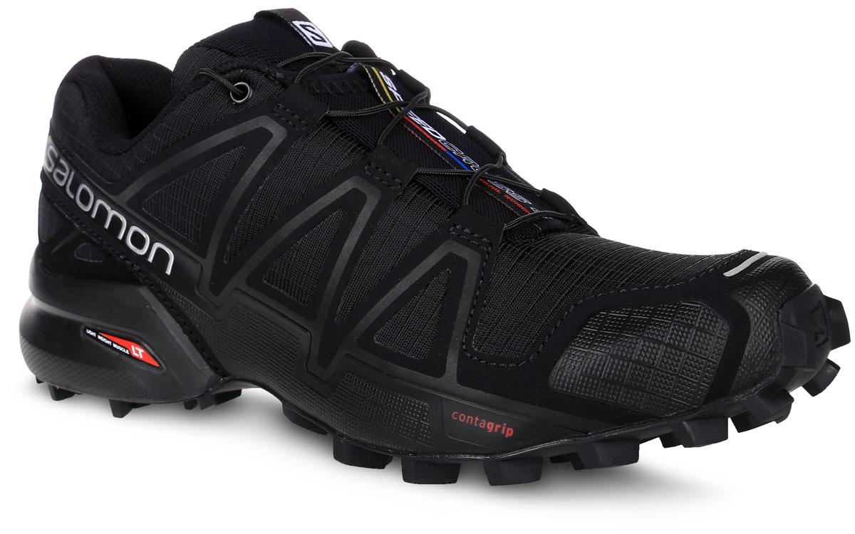 L38309700Беговые женские кроссовки от Salomon Speedcross 4 W выполнены на 64,3% из синтетического материала и на 35,7% из текстиля. Конструкция верха Sensifit с пропиткой Mudguard не пропускает грязь и воду. Подъем оформлен шнуровкой с фиксатором, благодаря которой обувь сидит плотно на ноге, и дополнен кармашком для шнурков. Стелька Ortholite из ЭВА материала с текстильным верхним покрытием создает более прохладное и сухое пространство под стопой. Мягкая верхняя часть и подкладка, изготовленная из текстиля, обеспечивают дополнительный комфорт и предотвращают натирание. Язычок дополнен текстильной нашивкой с символикой бренда. Светоотражающие элементы обеспечат лучшую видимость в темное время суток. Подошва Contagrip не оставляет следов и обеспечивает отличное сцепление со скользкой поверхностью. Такие кроссовки займут достойное место в коллекции вашей спортивной обуви.