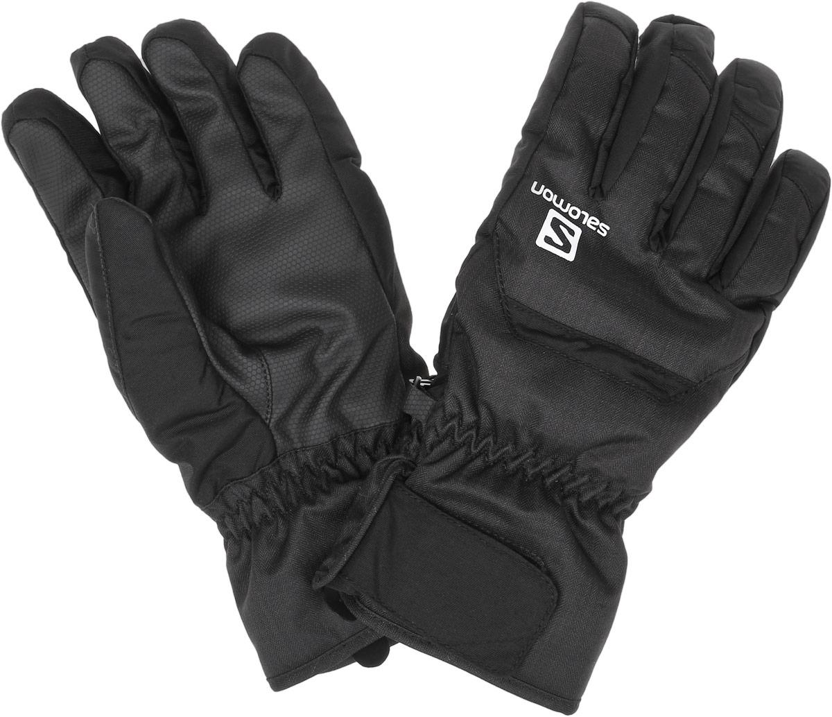 ПерчаткиL36377700Мужские перчатки Salomon Gloves Cruise M предназначены для занятий активными видами спорта и для носки в городе в холодную погоду. Внешний слой перчаток изготовлен из нейлона, на ладони - вставка из полиуретана. Утеплитель выполнен из высококачественного теплого полиэстера Advanced Skin Warm. Теплые перчатки с короткими манжетами и застежками-липучками Velcro сохранят тепло, удобство
