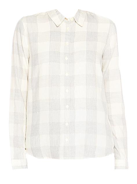 РубашкаW5152C8FTСимпатичная женская рубашка Wrangler изготовлена из высококачественного материала. Модная рубашка с длинными рукавами и отложным воротником, застегивается на кнопки по всей длине. Оформлена модель принтом в клетку.