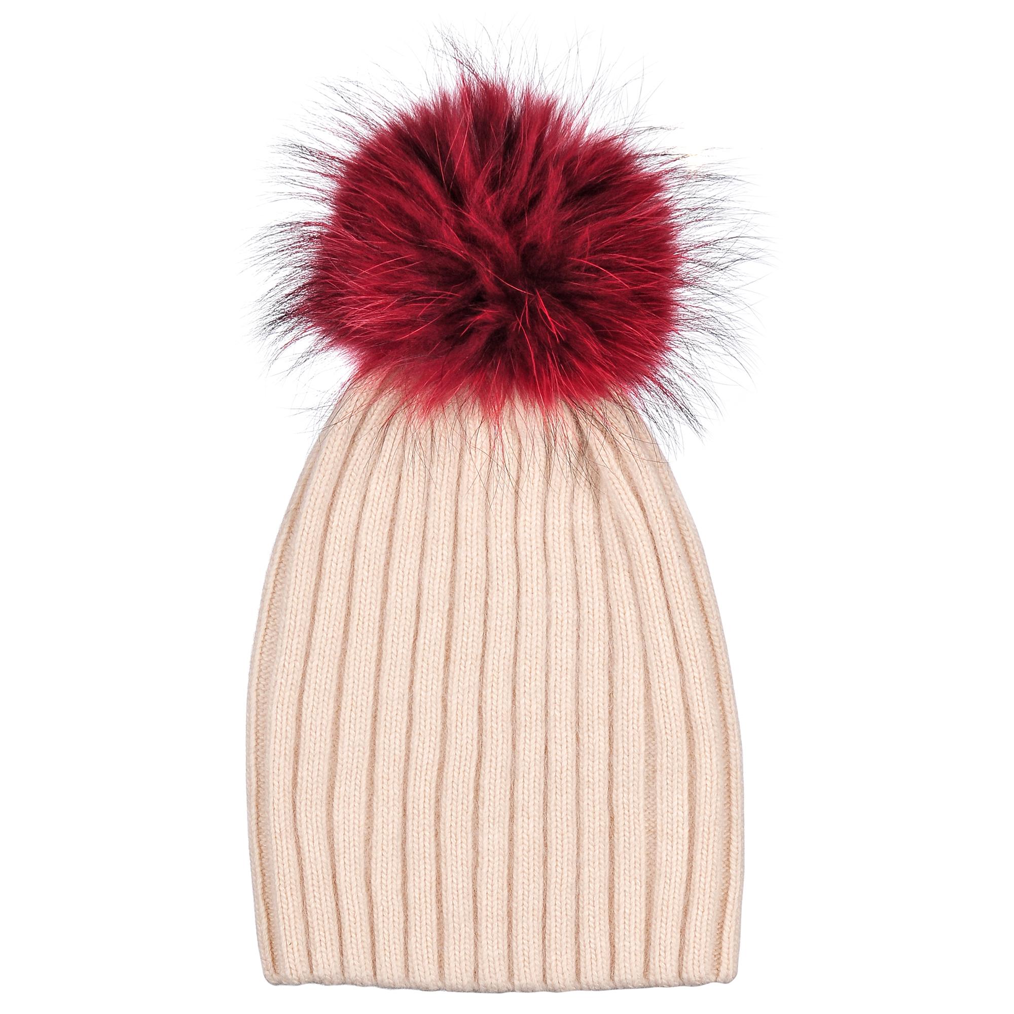 Шапка4-0049-001Трендовая шапка - чулок из натурального кролика с помпоном из натурального меха. Отличный аксессуар защитит в непогоду и подарит ощущение теплоты.