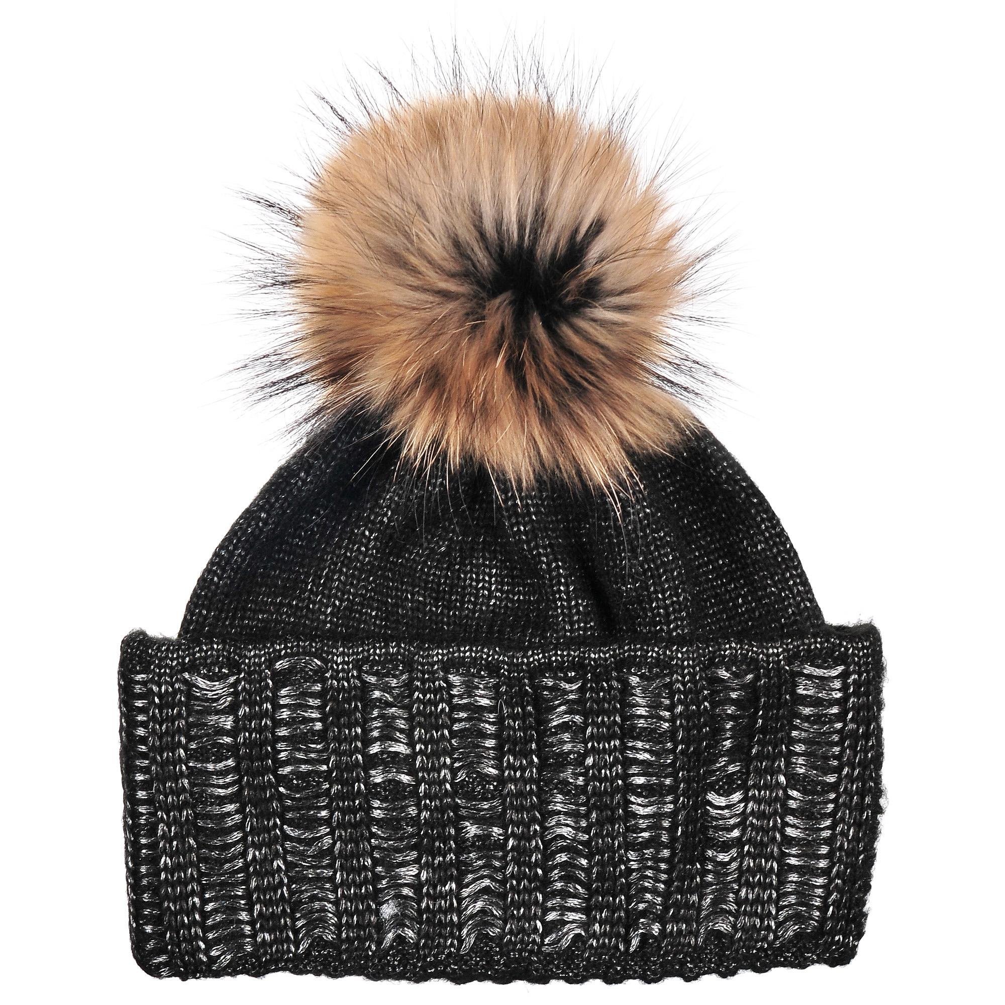 4-0046-180Стильная однослойная шапка с отворотом с натуральной шерстью в составе и помпоном из натурального меха. Меланжевая вязка. Отличный аксессуар защитит в непогоду и подарит ощущение теплоты.