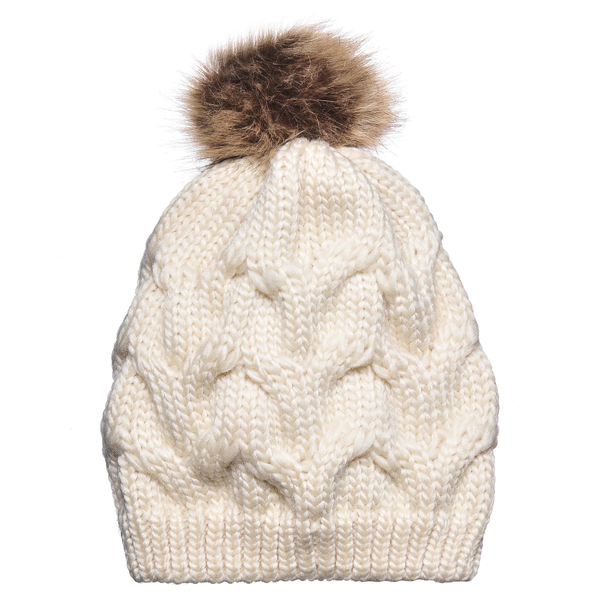 Шапка4-0043-001Стильная однослойная теплая шапка на резинке из акрила с помпоном. Рисунок - волна. Отличный аксессуар защитит в непогоду и подарит ощущение теплоты.