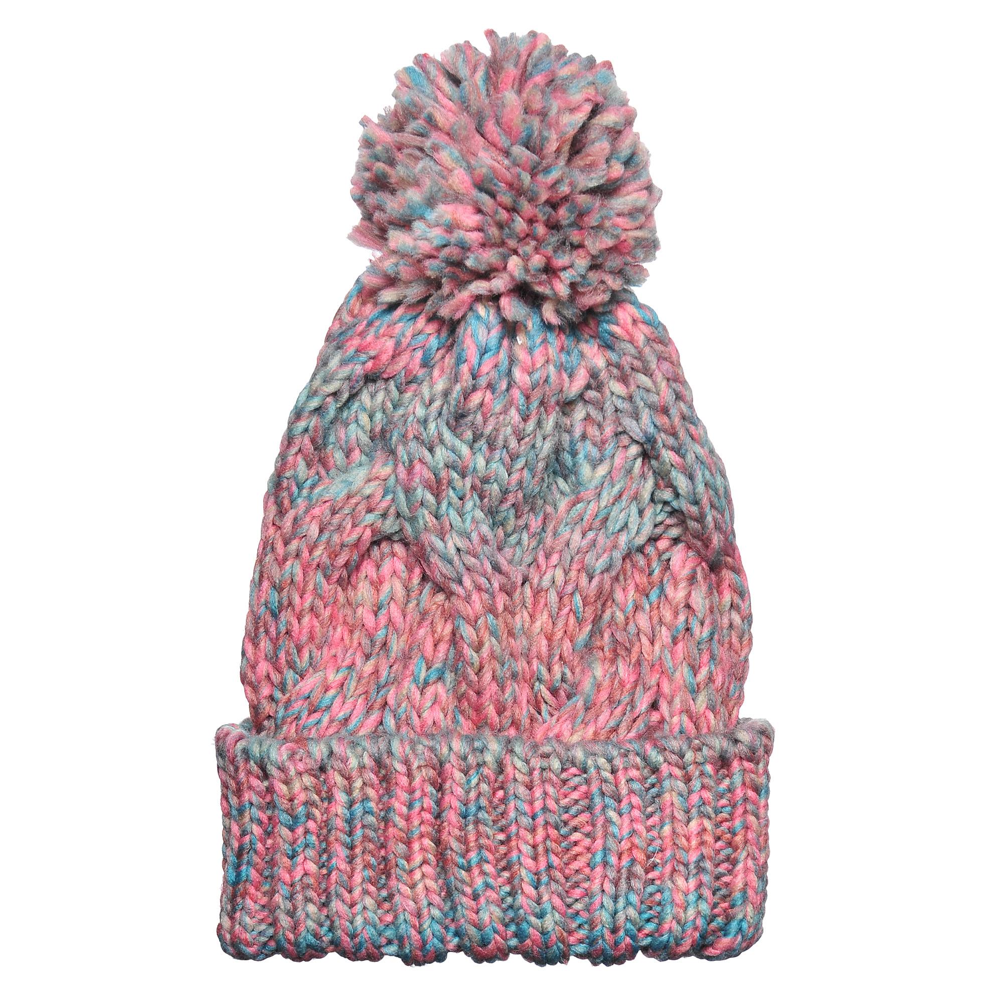 Шапка4-0039-124Стильная однослойная теплая шапка с отворотом и помпоном из акрила. Меланжевая вязка. Отличный аксессуар защитит в непогоду и подарит ощущение теплоты.