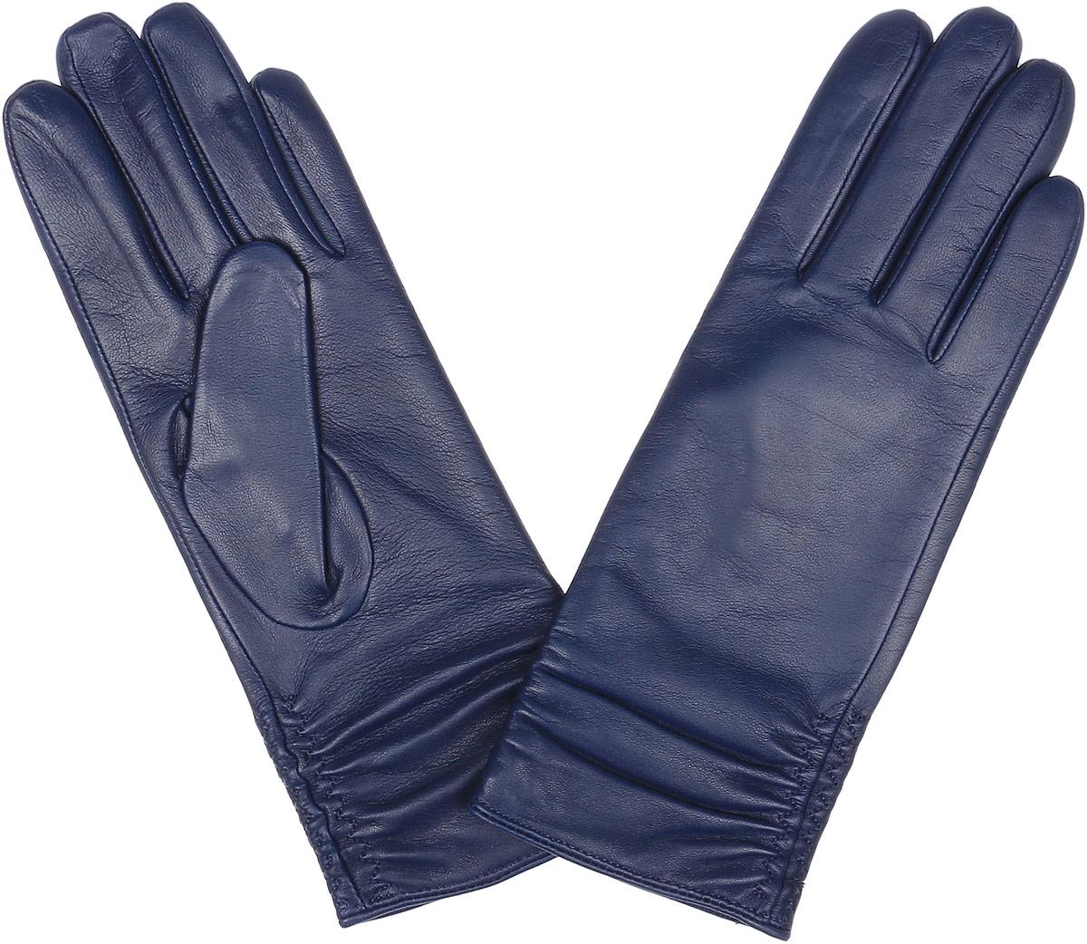 Перчатки12.25-10 taupeСтильные женские перчатки Fabretti не только защитят ваши руки, но и станут великолепным украшением. Перчатки выполнены из натуральной кожи ягненка, а их подкладка - из высококачественной шерсти с добавлением кашемира. Модель оформлена оригинальными строчками-стежками, которые дополнены эластичной резинкой. Стильный аксессуар для повседневного образа.