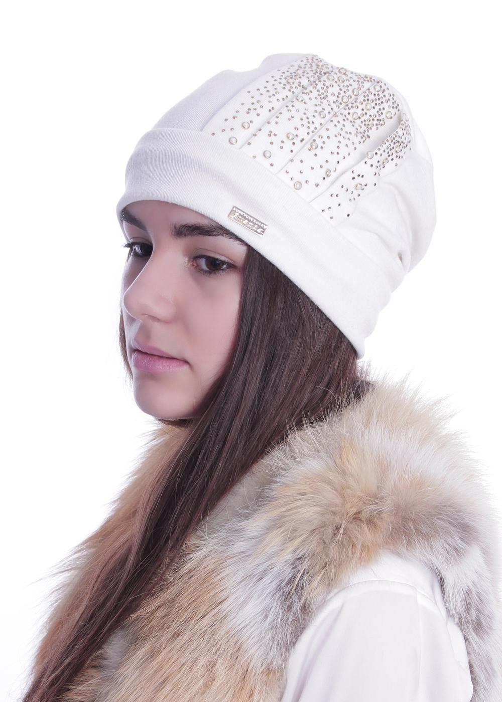 997458Женская шапка Avanta изготовлена из акрила и полиэтера, подкладка - из флиса. Уважаемые клиенты! Размер, доступный для заказа, является обхватом головы.