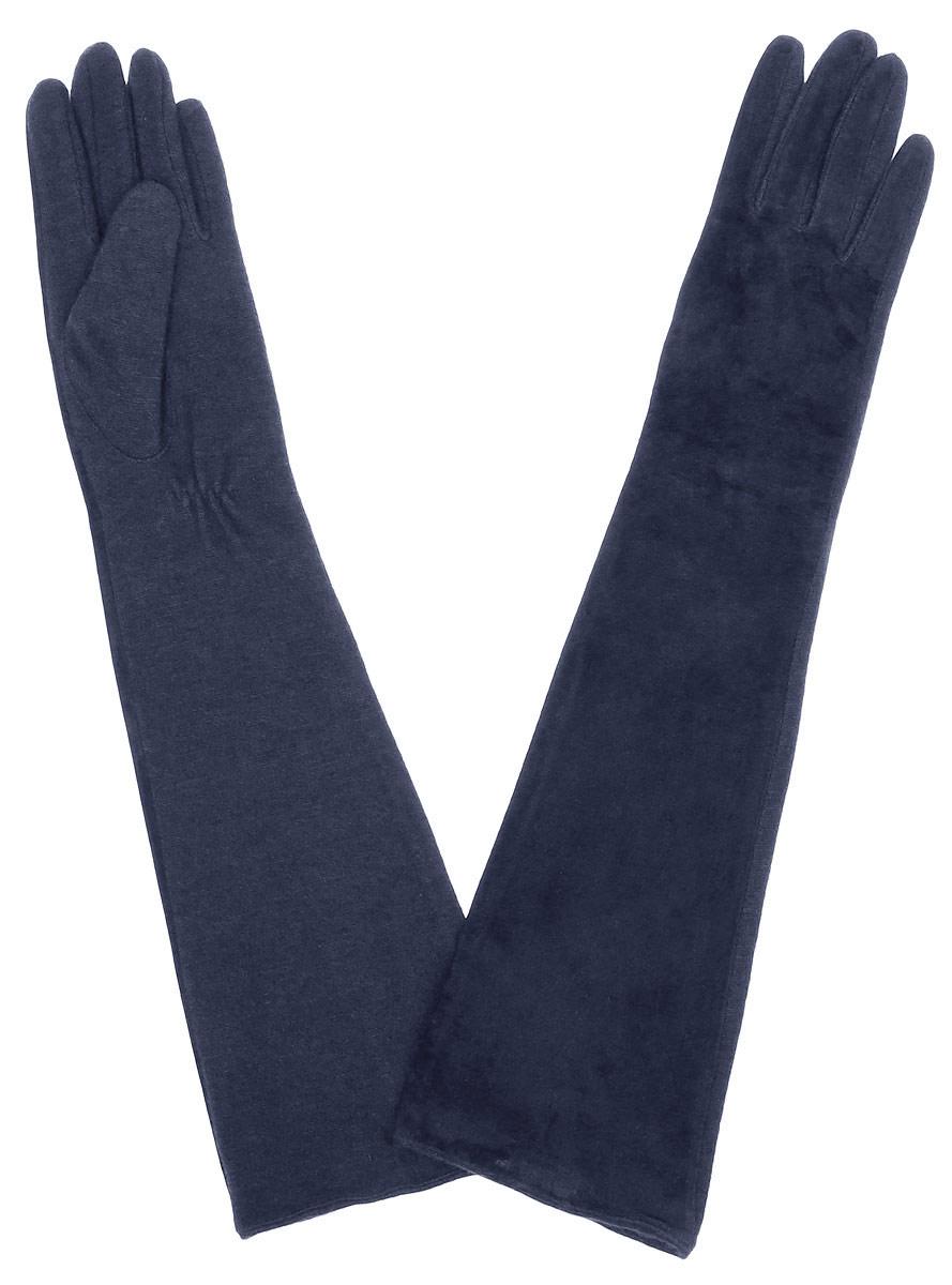 Длинные перчатки23.1-1_blackЭлегантные удлиненные женские перчатки Fabretti станут великолепным дополнением вашего образа и защитят ваши руки от холода и ветра во время прогулок. Лицевая сторона перчаток выполнена из натуральной замши, а обратная сторона из высококачественной теплой шерсти. Модель оформлена в лаконичном однотонном стиле. Такие перчатки будут оригинальным завершающим штрихом в создании современного модного образа.
