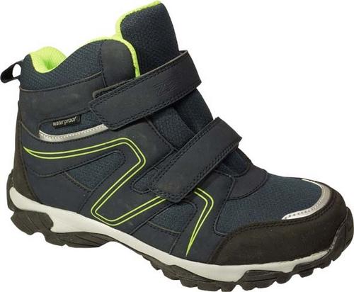 11037-10Ботинки от Зебра выполнена из искусственной кожи и текстиля. Ремешки с застежками-липучками обеспечивают надежную фиксацию изделия на ноге. Внутренняя поверхность и стелька из шерсти сохранят ноги в тепле. Гибкая подошва с рифлением не скользит.