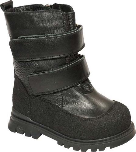 11184-1Модные полусапоги от Зебра выполнены из натуральной кожи. Хлястики на липучках надежно зафиксируют модель на ноге. Боковая застежка-молния позволяет легко снимать и надевать модель. Подкладка и стелька из натурального меха не дадут ногам замерзнуть. Подошва дополнена рифлением.