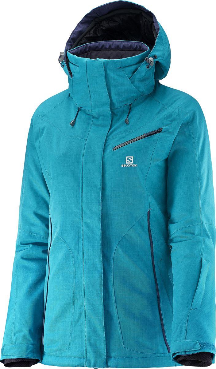 КурткаL38248800Дизайн куртки FANTASY, вдохновленный аутдором, с техническими характеристиками, которые делают её максимально комфортной для катания на лыжах в метель, как и для прогулки по заснеженным городским улицам. Новый, приталенный женственный силуэт и медиа-карман для еще большей универсальности.