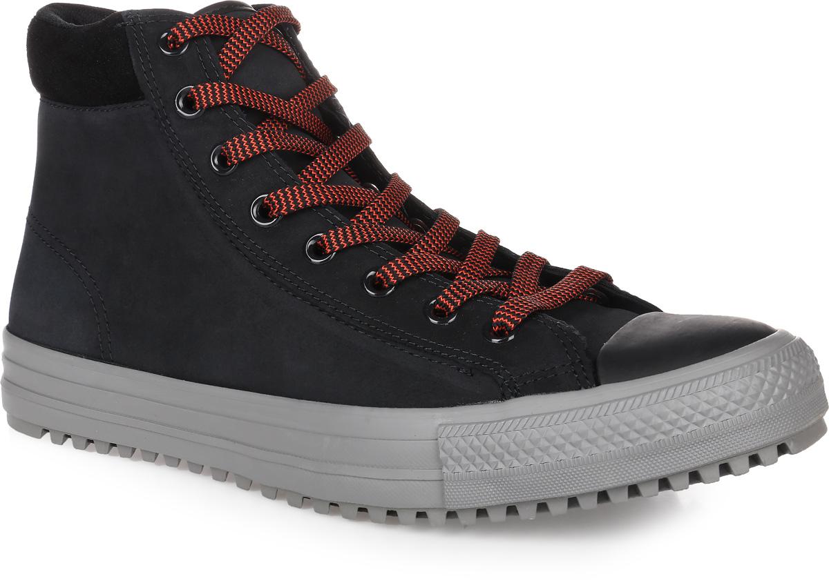 Кеды153672Кеды Converse Chuck Taylor All Star Converse Boot Pc выполнены из натуральной кожи и оформлены фирменной нашивкой. Модель дополнена текстильным мягким кантом, который создаст комфорт при ходьбе и предотвратит натирание ноги. На ноге модель фиксируется с помощью шнурков. Внутренняя поверхность и стелька выполнены из сетчатого текстиля, комфортного при движении. Подошва выполнена из высококачественной резины и дополнена протектором, который гарантирует отличное сцепление с любой поверхностью.