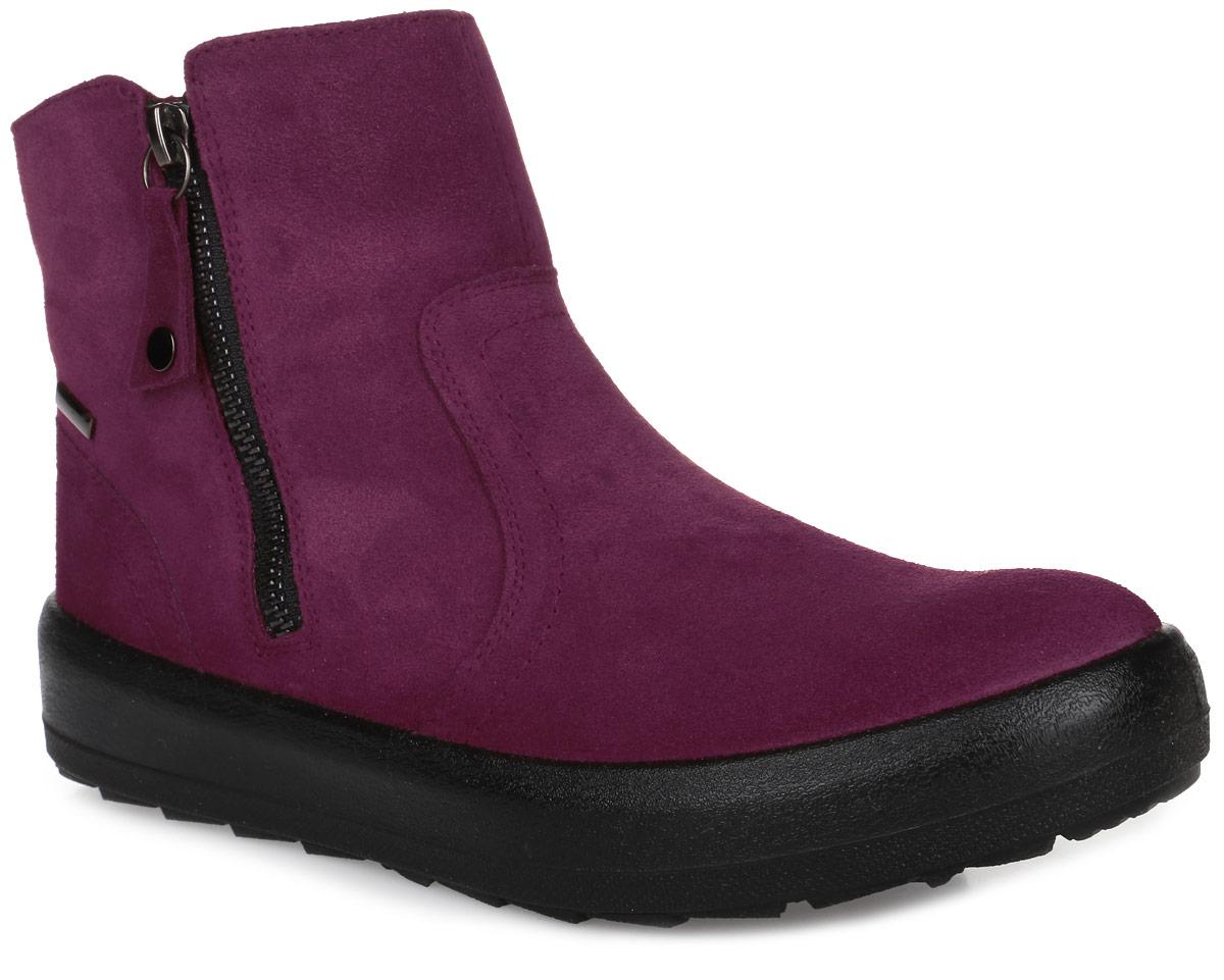 6SME_41100-06275_01_RED.VСтильные женские ботинки от Spur заинтересуют вас своим дизайном с первого взгляда. Модель изготовлена из качественного нубука. На ноге модель фиксируется с помощью удобных боковых застежек-молний. Стелька и подкладка, изготовленные из натуральной шерсти, защитят ноги от холода и обеспечат комфорт. Подошва изготовлена из гибкой и прочной резины. Протекторы с рифлением гарантируют отличное сцепление с различными поверхностями.