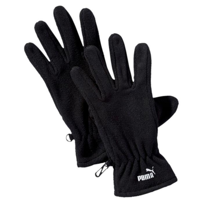 Перчатки041273_01Мягкие и удобные перчатки из флиса снабжены застежками на липучке для подгонки по руке, а также декорированы спереди тисненым прорезиненным логотипом PUMA.