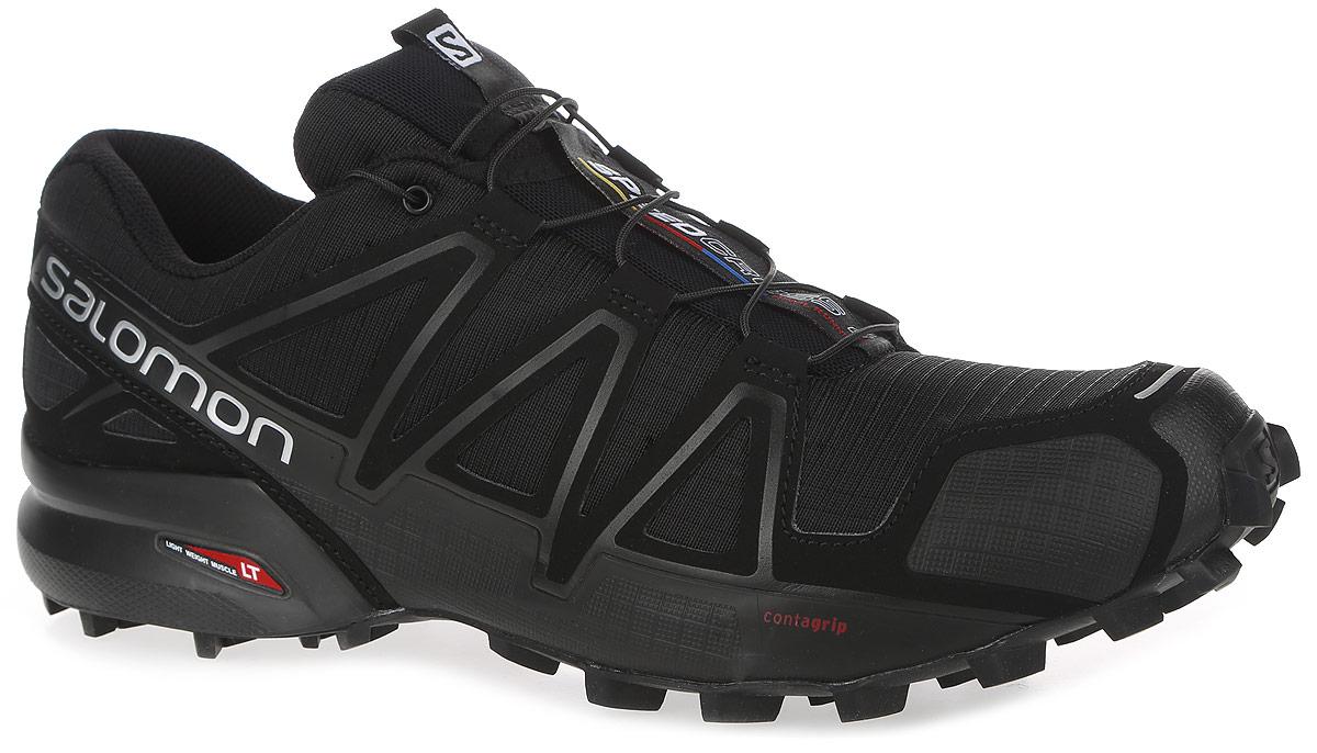 L38313000Беговые мужские кроссовки от Salomon Speedcross 4 выполнены на 64,3% из синтетического материала и на 35,7% из текстиля. Конструкция верха Sensifit с пропиткой Mudguard не пропускает грязь и воду. Подъем оформлен шнуровкой с фиксатором, благодаря которой обувь сидит плотно на ноге, и дополнен кармашком для шнурков. Стелька Ortholite из ЭВА материала с текстильным верхним покрытием создает более прохладное и сухое пространство под стопой. Мягкая верхняя часть и подкладка, изготовленная из текстиля, обеспечивают дополнительный комфорт и предотвращают натирание. Язычок дополнен текстильной нашивкой с символикой бренда. Светоотражающие элементы обеспечат лучшую видимость в темное время суток. Подошва Contagrip не оставляет следов и обеспечивает отличное сцепление со скользкой поверхностью. Такие кроссовки займут достойное место в коллекции вашей спортивной обуви.