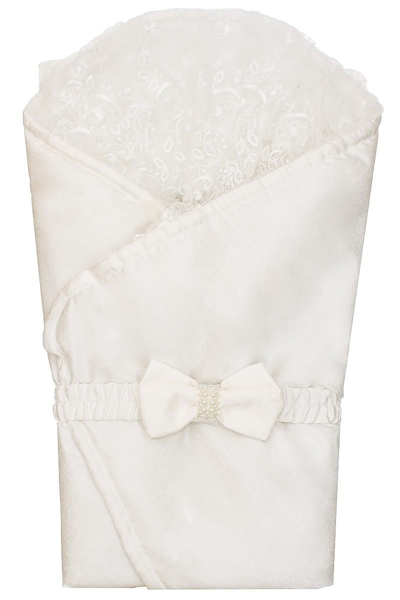 Конверт для новорожденногоКВ21-17Конверт для новорожденного БЕМБІ идеально подойдет для сна, а также во время кормления малыша. Изделие выполнено из полиэстера, тактильно приятное и позволяет коже дышать. Подкладка из хлопка с добавлением полиэстера. Конверт дополнен наполнителем из полиэстера. Конверт разворачивается в одеяло, спереди застегивается хлястиком на две кнопки. Хлястик оформлен оригинальным бантом. По краю изделие дополнено очаровательным кружевом. Конверт фиксирует положение ребенка для большего комфорта. Мягко облегая, конверт не ограничивает движение ребенка, и в тоже время помогает снизить рефлекс внезапного вздрагивания, защищая чуткий сон малыша от пробуждений. Простой и легкий в использовании.