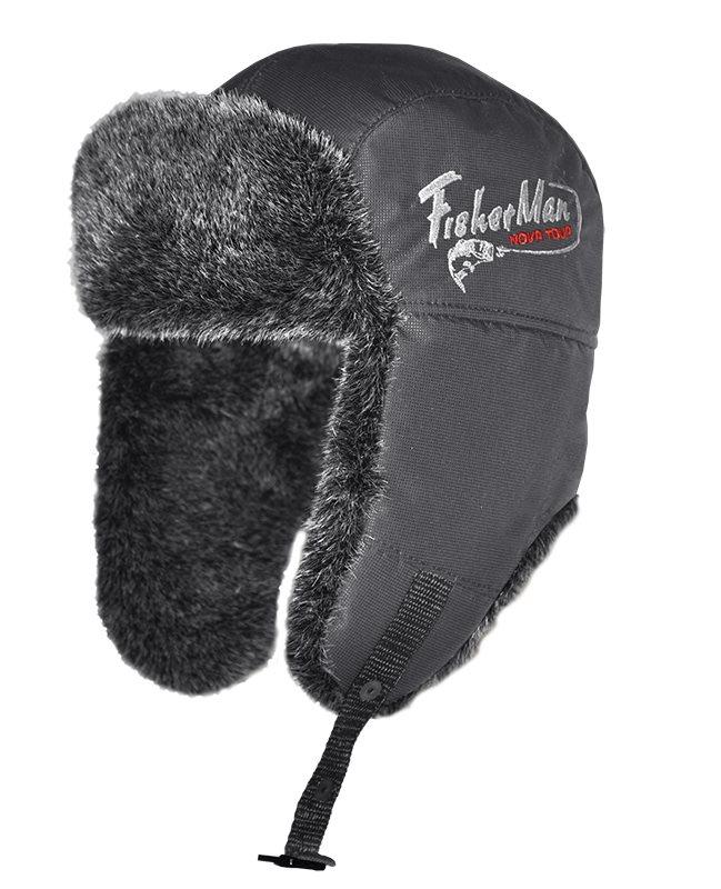 Шапка95863-504Очень теплая шапка-ушанка для зимней рыбалки и активного отдыха на свежем воздухе!