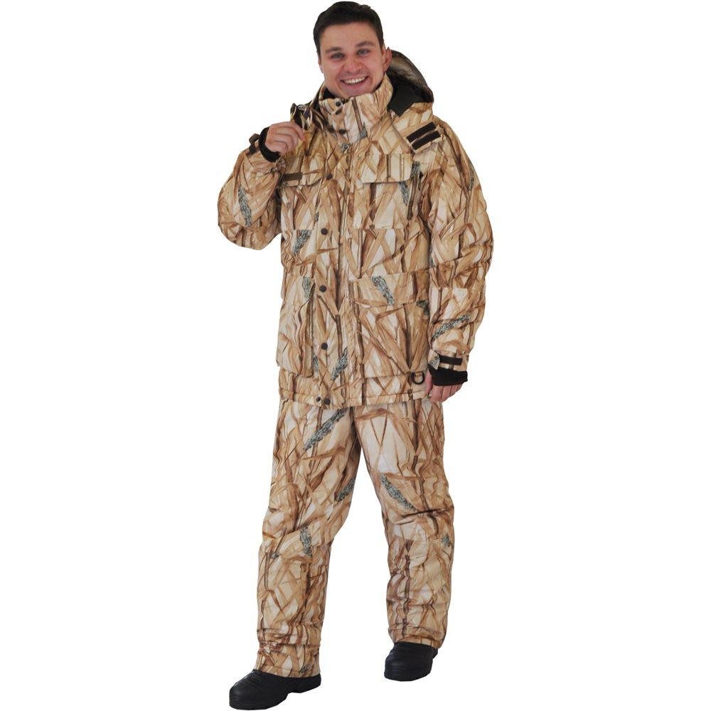 Костюм рыболовный95862-703Теплый и непродуваемый костюм для охоты и рыбалки зимой! Непродуваемая ткань поможет с комфортом заниматься любимым делом даже в сильный мороз, а большое количество специальных карманов для специальных вещей и теплые карманов для рук - сделает времяпрепровождение еще более комфортной! Не забывайте правильно одеваться, чтобы не замерзнуть в сильный мороз одевайте под костюм комплект из флиса и теплого термобелья! Проклеенные швы, регулируемый капюшон, боковые расширители, внутренние манжеты, анатомический крой рукава, ветрозащитная юбка, анатомический крой в области колена, двухзамковая молния. Влагостойкость 5 000 мм. Паропроницаемость 5 000 мл./м.кв./24часа.