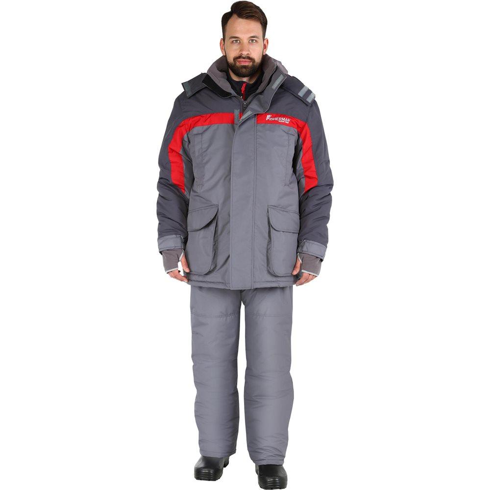 95637-905Практичный и надежный костюм для зимней рыбалки. Куртка с воротником-стойкой, с регулируемым капюшоном, накладными карманами с люверсами. Рукава анатомического кроя дополнены внутренними манжетами и кольцом для перчаток. Комбинезон с эластичными боковыми вставками, с регулировкой ширины низа брюк и боковыми расширителями.