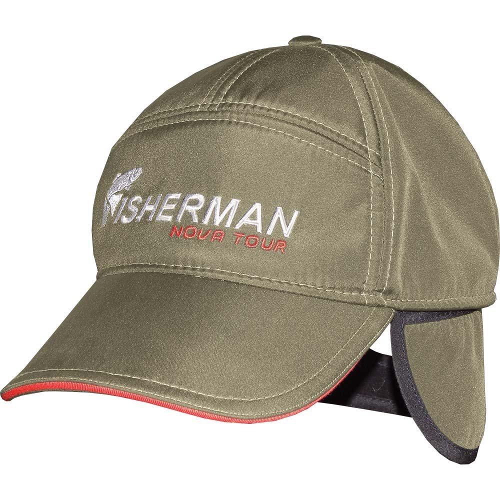 95334-506Утепленная кепка с ушками. Удобная, утепленная кепка с козырьком, незаменима для рыбалки в солнечную погоду.