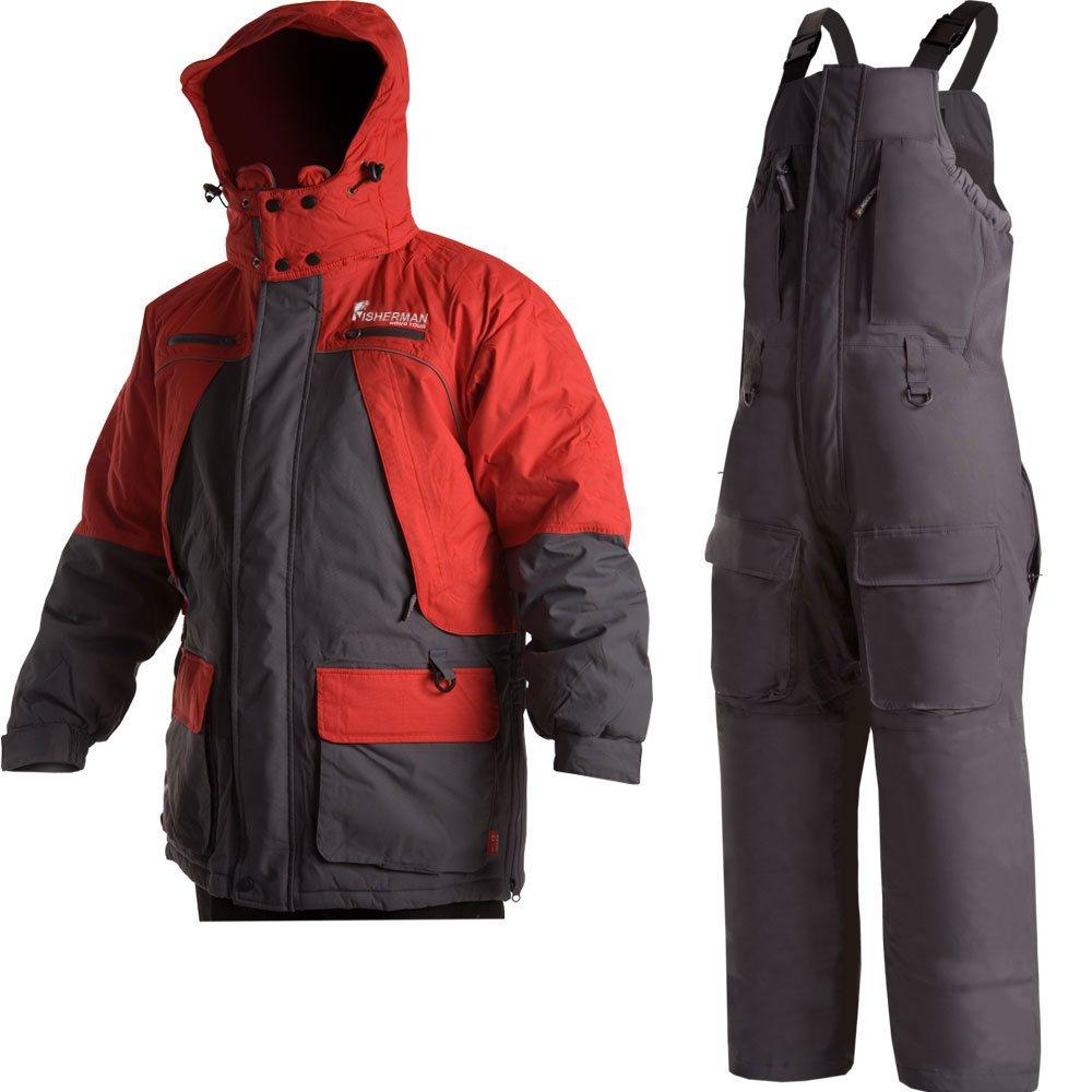 46203-055Костюм состоит из куртки и полукомбинезона. Обновленная версия костюма Фишермен, отличается более современной конструкцией и удобной посадкой костюма по фигуре. Новый утеплитель Termo MAX обеспечит непревзойденный комфорт и сохранение тепла в условиях зимней рыбалки. Проклеенные швы защищают от попадания воды. Климатическая мембрана прекрасно отводит влагу. Регулировка рукавов и низа брюк по ширине препятствует попаданию воды, снега, а также задуванию холодного воздуха. Внутренние флисовые манжеты прекрасно сохраняют тепло. Теплый съемный капюшон с жестким козырьком прекрасно защитит Вас от попадания снега, дождя и ветра. Капюшон регулируется по ширине и по объему. Ветрозащитная юбка препятствует попаданию снега и задуванию ветра. Регулировка полукомбинезона по росту и эластичные боковые вставки обеспечивают комфортную посадку по фигуре. Удобные внешние и внутренние карманы позволят разместить необходимые каждому рыбаку мелочи. Молнии оснащены хлястиками – удобно...