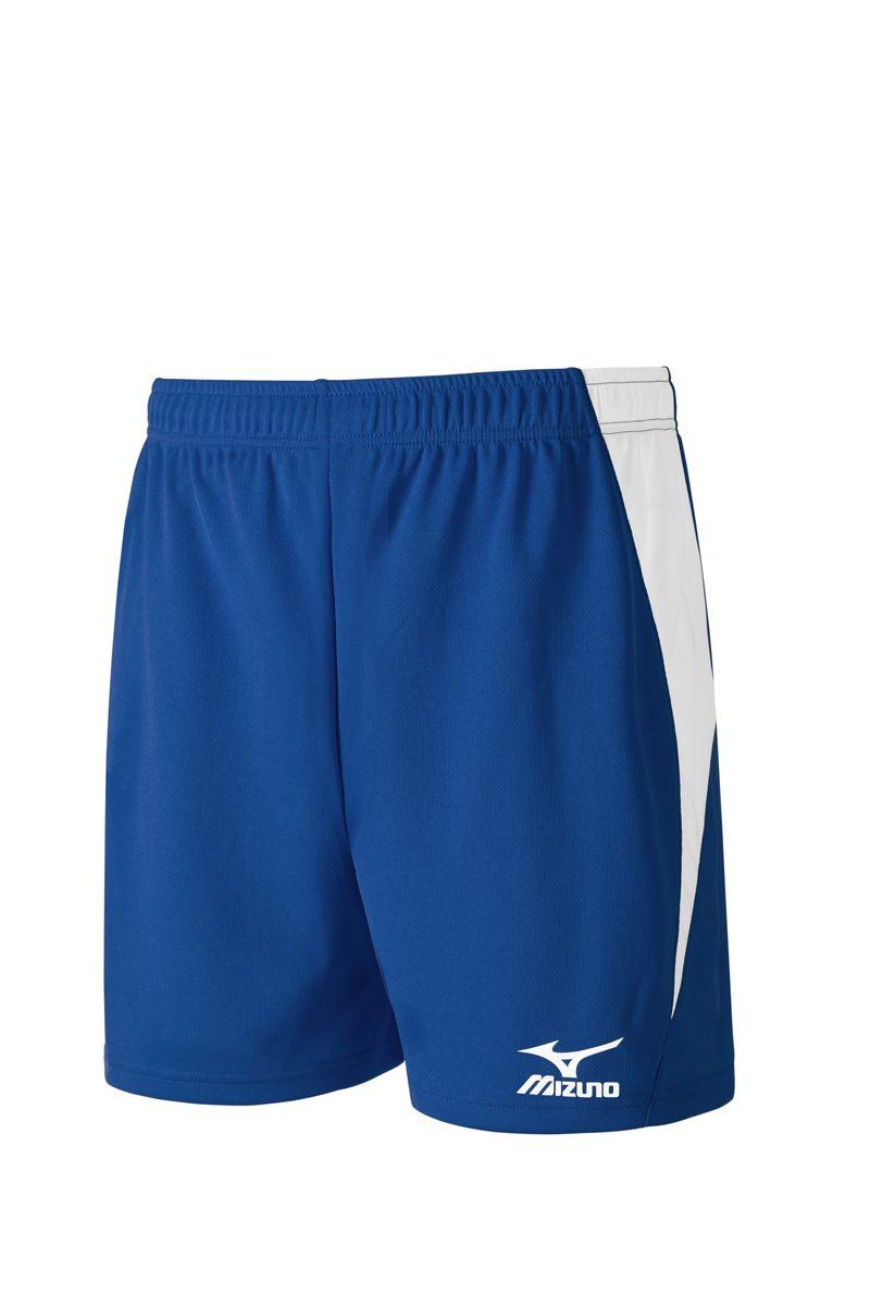 ШортыV2GB6B31-14Легкие мужские шорты для игры в волейбол выполнены из высококачественного материала. Оформлены контрастными вставками и напечатанным логотипом Mizuno.