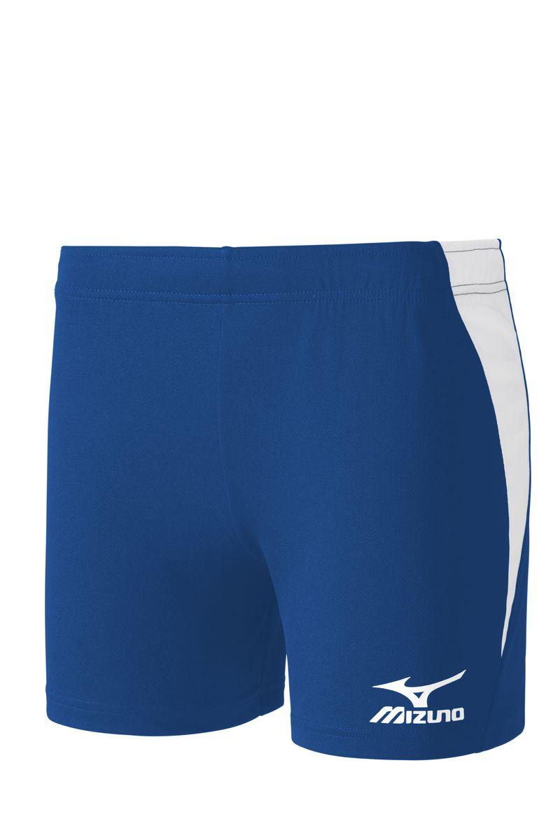 V2GB6D40-22Легкие шорты для игры в волейбол выполнены из высококачественного материала. Оформлены контрастными вставками и напечатанным логотипом Mizuno.