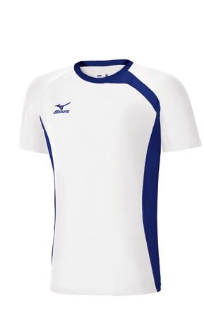 ФутболкаV2GA6A11-01Футболка для игры в волейбол выполнена из легкого и мягкого полиэстера, ассиметричный дизайн. Оформлена напечатанным логотипом Mizuno.