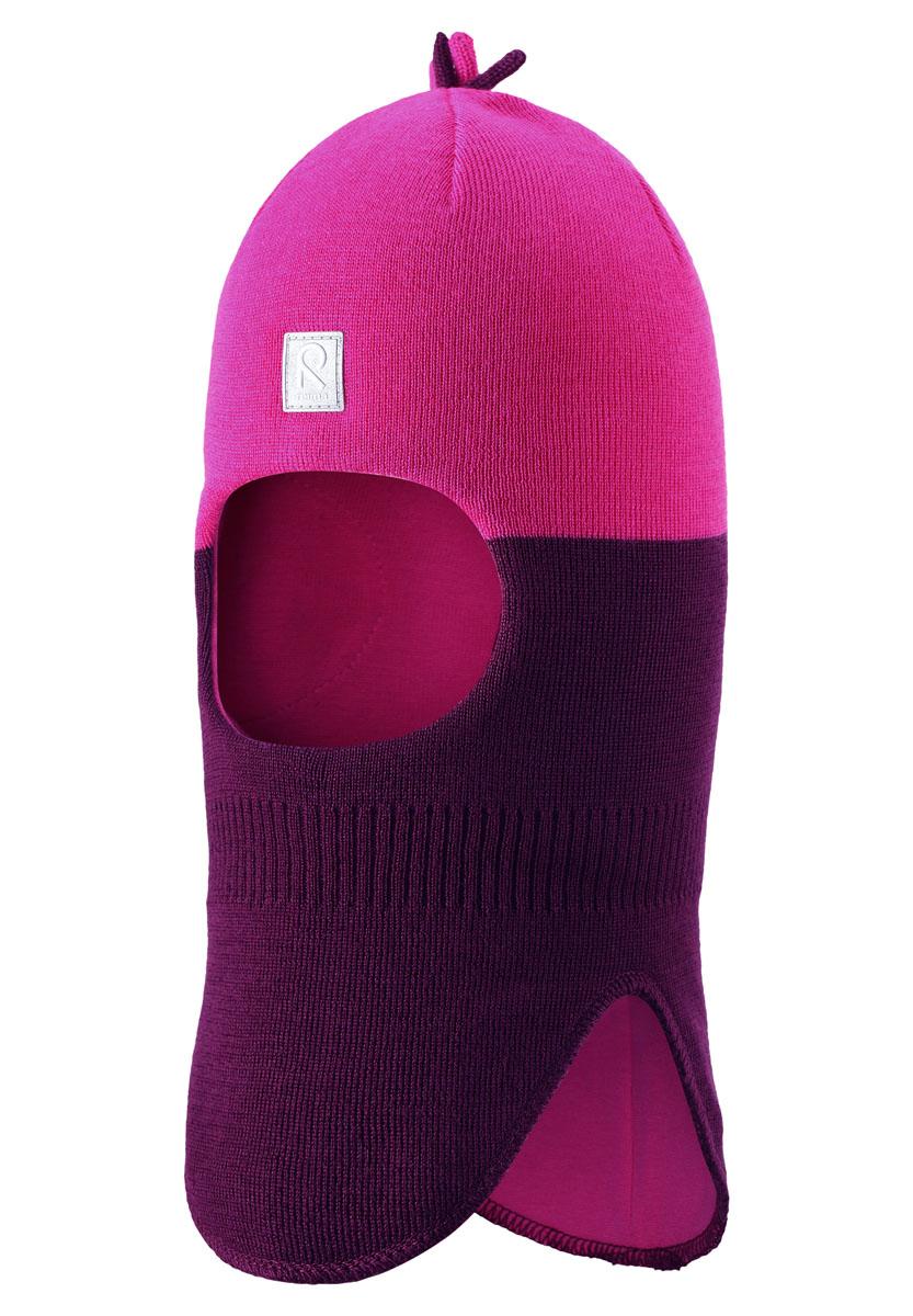 Шапка518364-4900Забавная шапка-шлем идеально подойдет для холодных осенних и зимних дней. Вставки в области ушей обеспечат дополнительную защиту, а эластичная подкладка из джерси (хлопок) позволит шапочке плотно сеть на головку малыша. Приятна на ощупь.