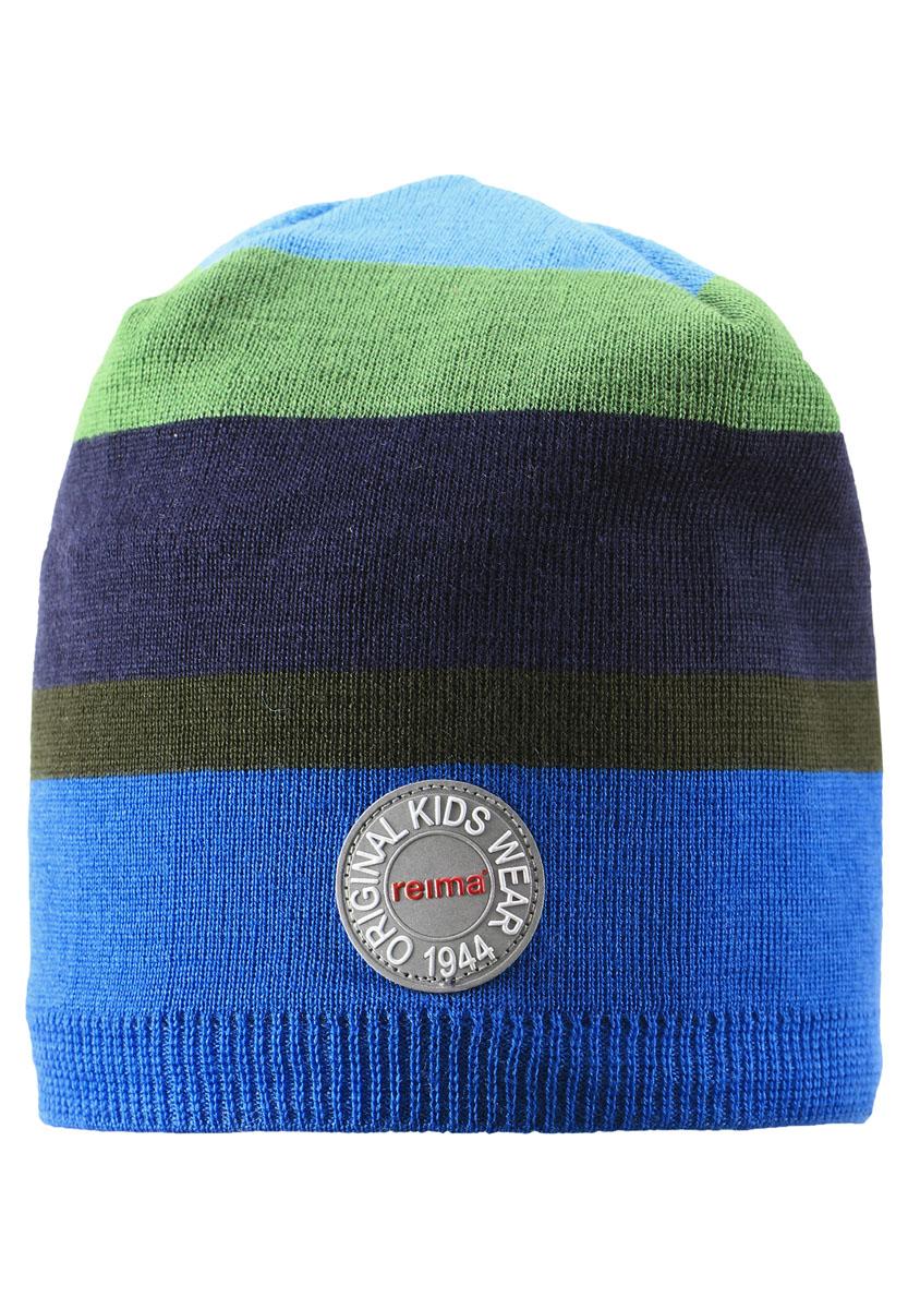 Шапка детская528483-2500Великолепная шапочка-бини, связанная из смеси шерсти, согреет малышей и ребят постарше в осенние деньки. Ветронепроницаемая подкладка из ламинированного флиса создает красивый контраст и обеспечивает дополнительную защиту. Великолепный выбор для подвижных детей! Мы рекомендуем носить эту шапку с нашими куртками и комбинезонами в стиле Retro или Anniversary.