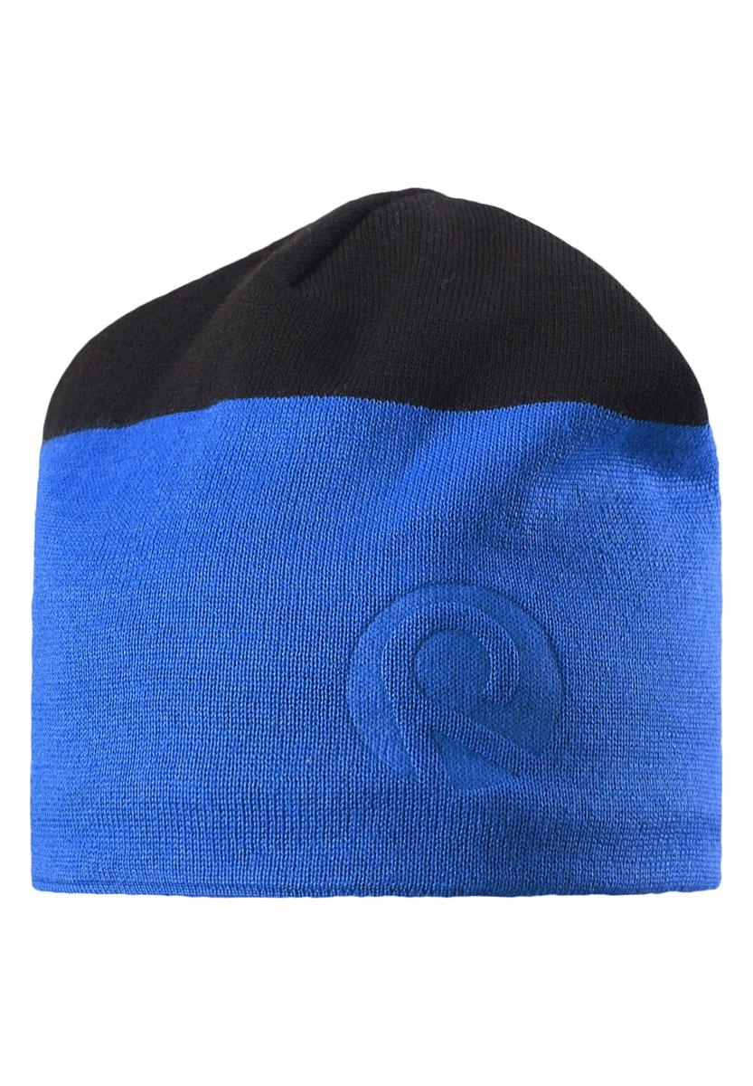 Шапка детская538021-6560Модная зимняя шапка для детей и подростков изготовлена из теплой полушерсти, а с изнаночной стороны у нее мягкая и быстросохнущая подкладка из флиса. Благодаря полушерсти и флису, голова малыша будет в тепле и не вспотеет, сколько ни бегай. Ветронепроницаемые вставки в области ушей обеспечивают дополнительную защиту от пронизывающего ветра.