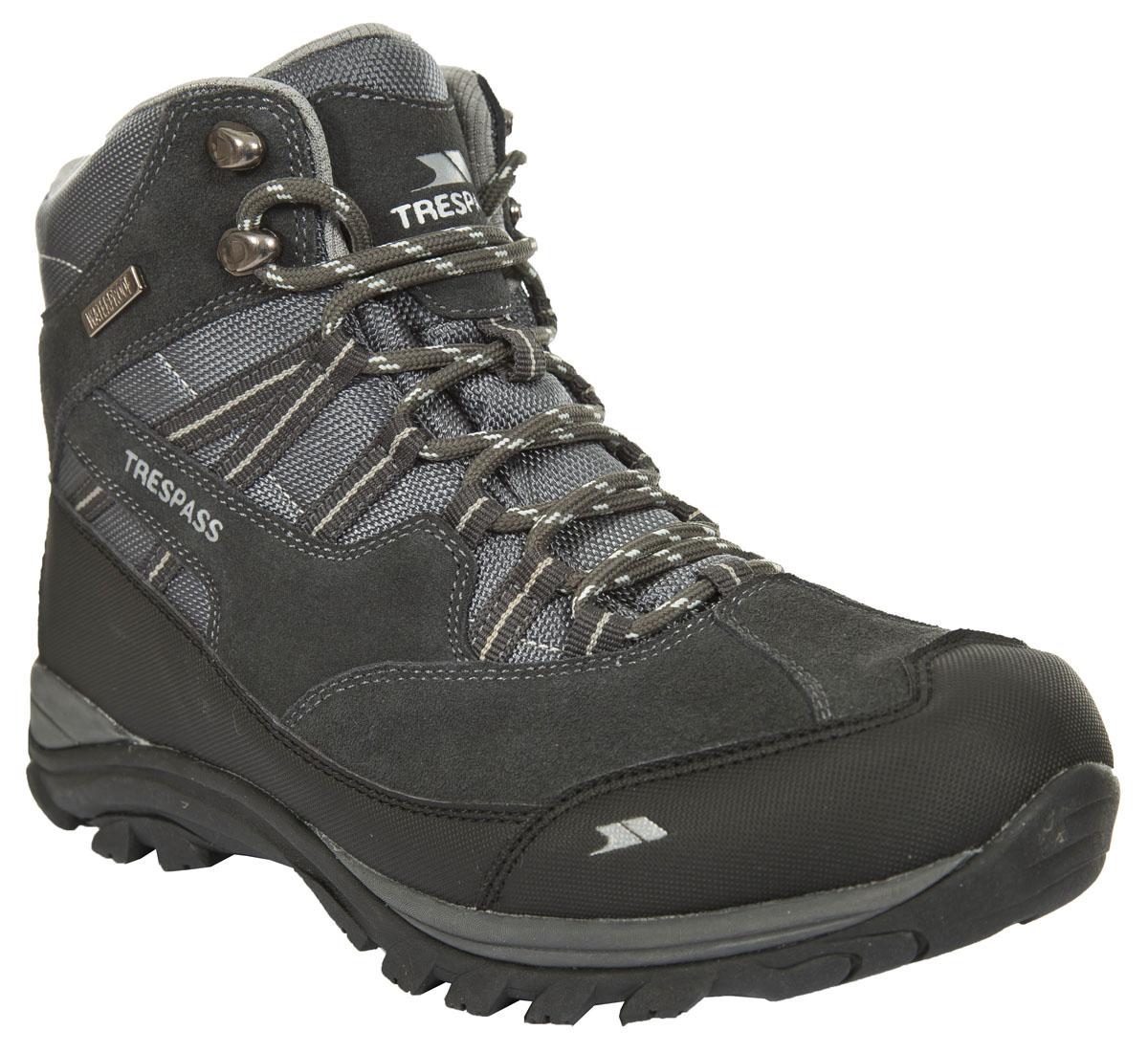 БотинкиMAFOBOL20002Современные трекинговые ботинки Barkley от Trespass выполнены из текстильного водонепроницаемого материала. Специальное покрытие эффективно обеспечивает сухость и комфорт вашим ногам. Подкладка и стелька из текстиля комфортны при движении. Шнуровка надежно зафиксирует модель на ноге. Подошва дополнена рифлением. Ботинки прекрасно подойдут для пеших походов по пересеченной местности.