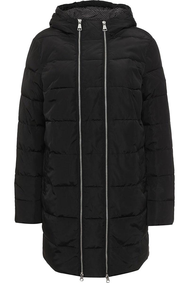 КурткаW16-32008_200Женская куртка Finn Flare выполнена из ветрозащитного и водостойкого материала с утеплителем из полиэстера. Модель с несъемным капюшоном застегивается на молнию. Капюшон дополнен по краю эластичным шнурком со стопперами. Спереди расположены два втачных кармана на кнопках. Манжеты рукавов выполнены на эластичных резинках. Куртка украшена спереди декоративной металлической молнией и фирменной металлической пластиной с названием бренда.