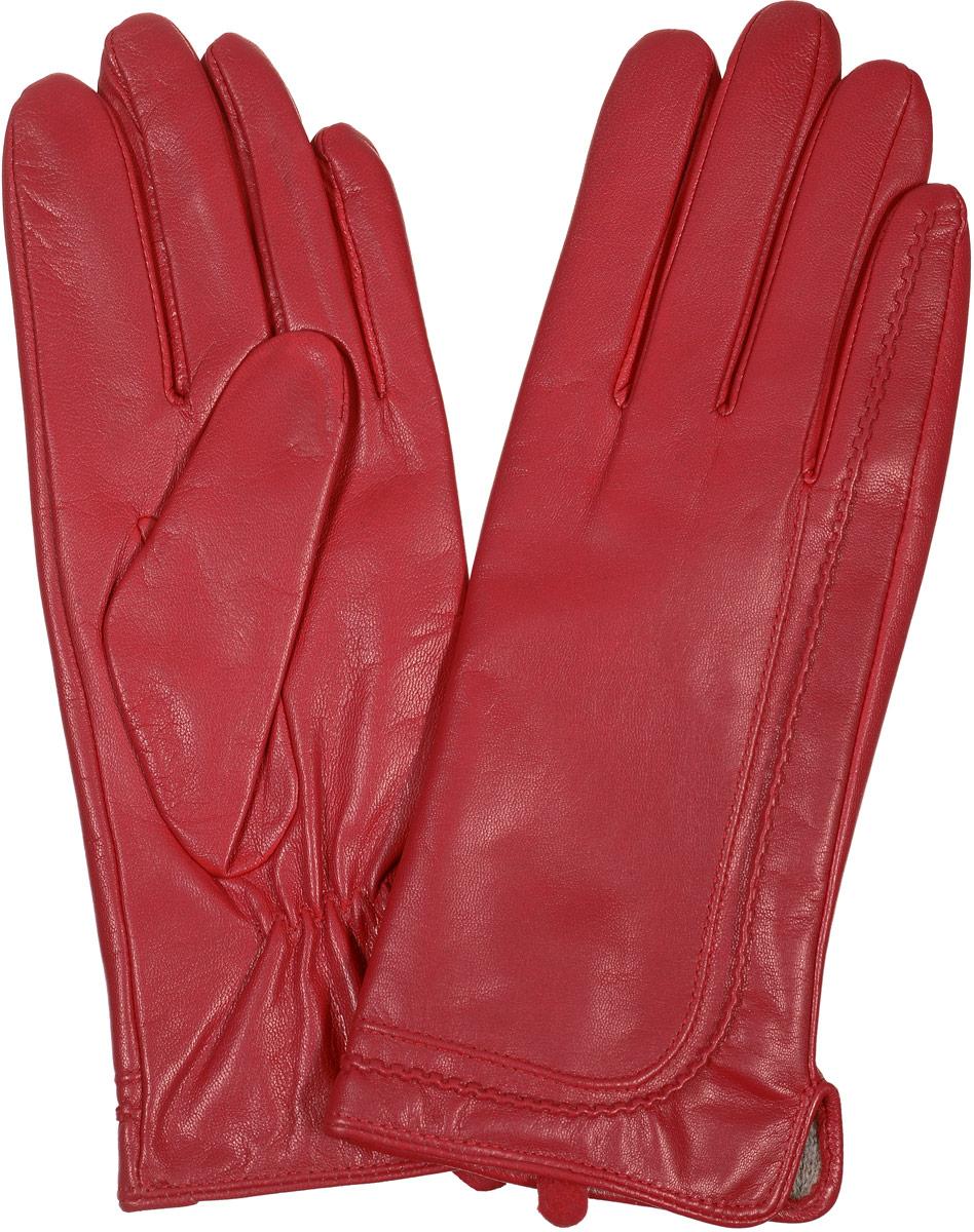 2104516671Стильные женские перчатки Piero станут великолепным дополнением вашего образа и защитят ваши руки от холода и ветра во время прогулок. Перчатки выполнены из натуральной кожи, а подкладка изготовлена из теплой шерсти с добавлением акрила. Модель выполнена в лаконичном однотонном стиле и оформлена оригинальной отстрочкой на лицевой стороне изделия. Такие перчатки будут оригинальным завершающим штрихом в создании современного модного образа.