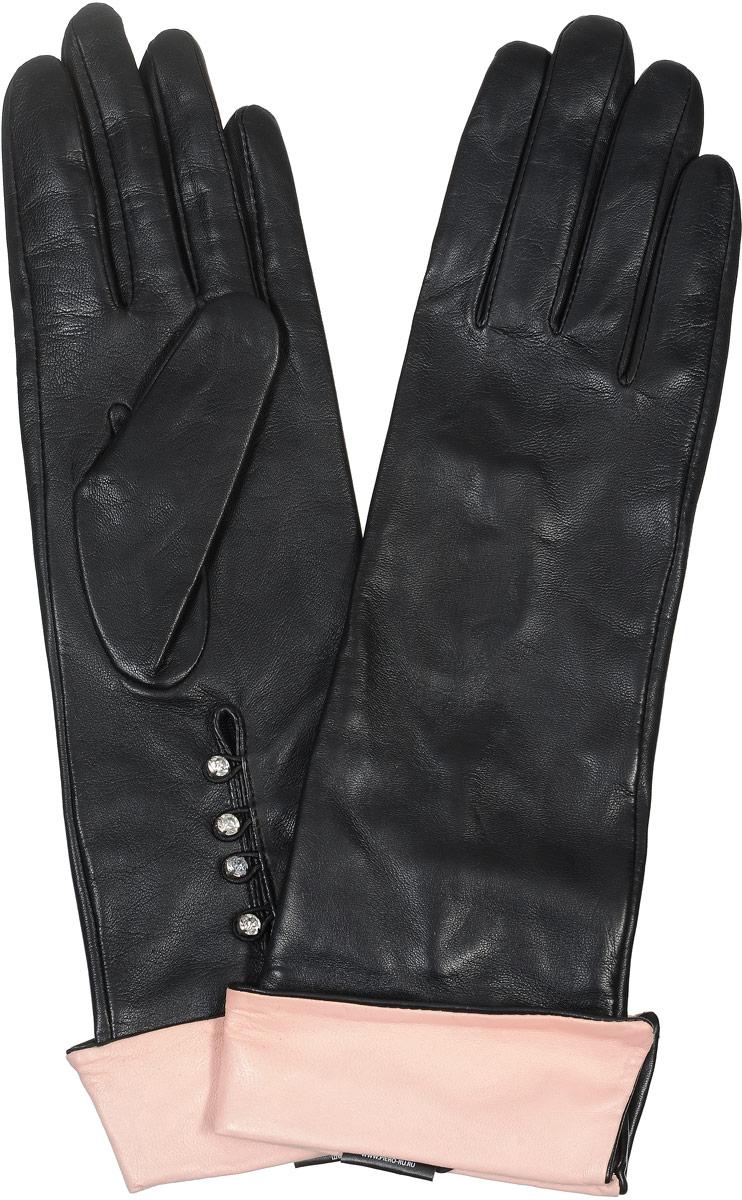 2104216664Стильные женские перчатки Piero станут великолепным дополнением вашего образа и защитят ваши руки от холода и ветра во время прогулок. Перчатки выполнены из натуральной кожи, а подкладка изготовлена из искусственного шелка. Модель оформлена на запястье блестящими стразами на петельках. Такие перчатки будут оригинальным завершающим штрихом в создании современного модного образа.