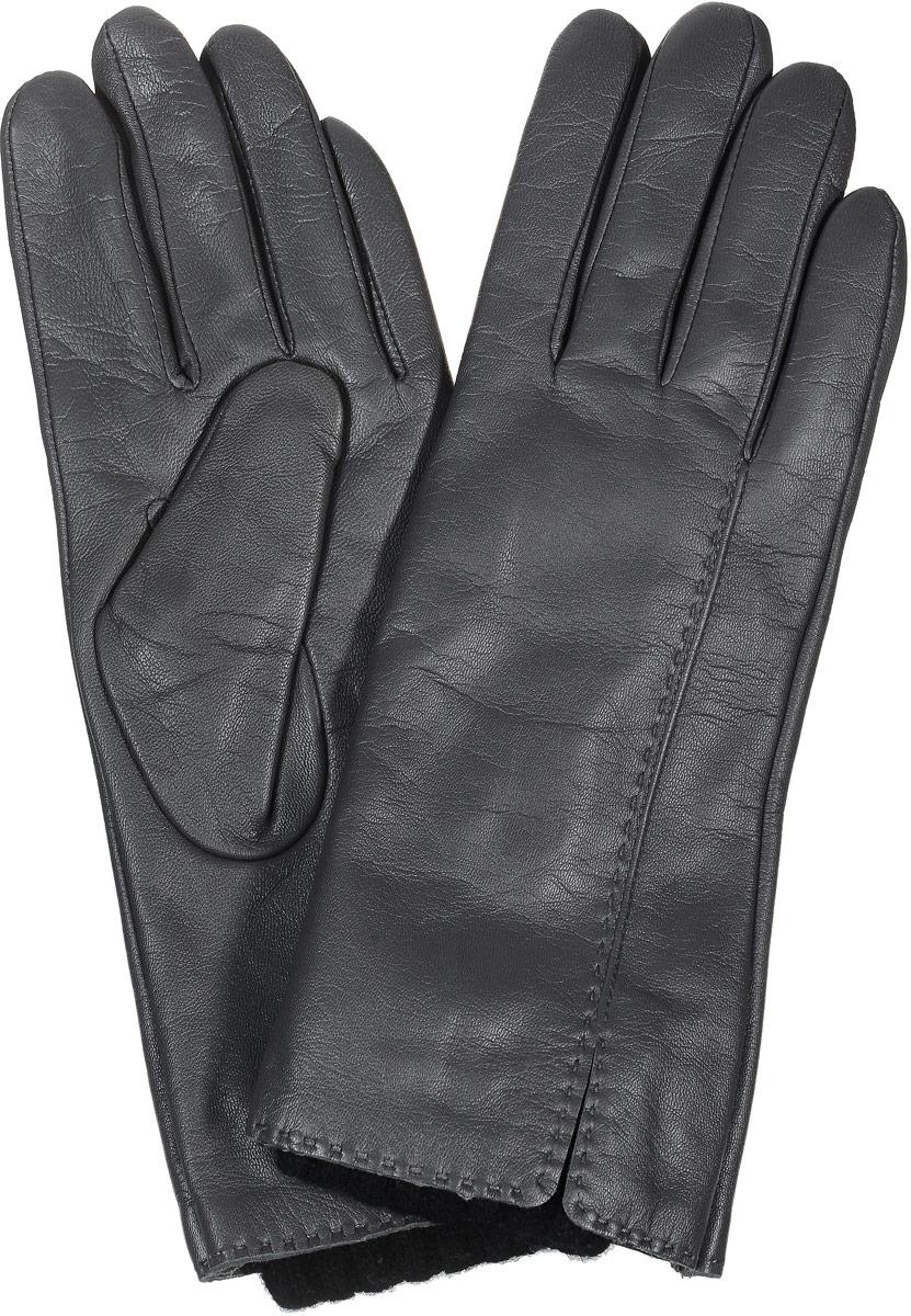 2104516668Стильные женские перчатки Piero станут великолепным дополнением вашего образа и защитят ваши руки от холода и ветра во время прогулок. Перчатки выполнены из натуральной кожи, а подкладка изготовлена из теплой шерсти с добавлением акрила. Модель выполнена в лаконичном однотонном стиле и оформлена оригинальной отстрочкой на лицевой стороне изделия. Такие перчатки будут оригинальным завершающим штрихом в создании современного модного образа.