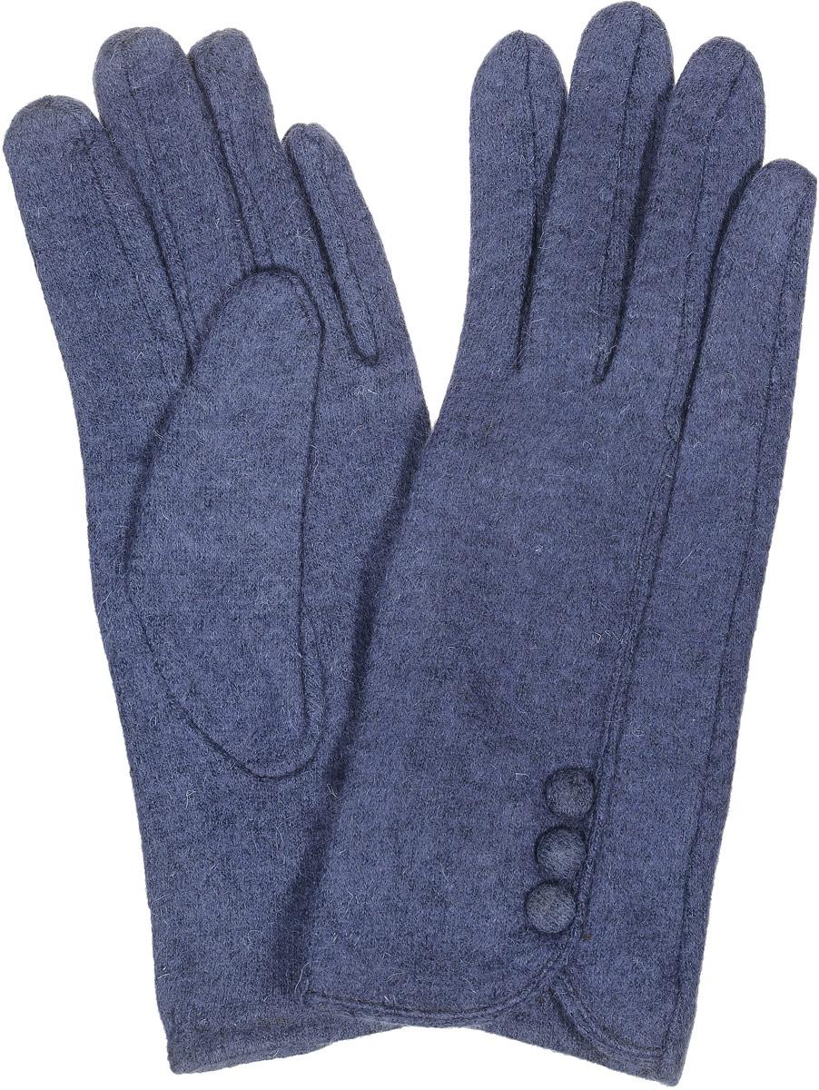 02109115227_51Элегантные женские перчатки Sabellino станут великолепным дополнением вашего образа и защитят ваши руки от холода и ветра во время прогулок. Перчатки выполнены из плотного шерстяного трикотажа. Модель выполнена в лаконичном однотонном стиле и оформлена тоненькой отстрочкой с тремя пуговичками. Такие перчатки будут оригинальным завершающим штрихом в создании современного модного образа.