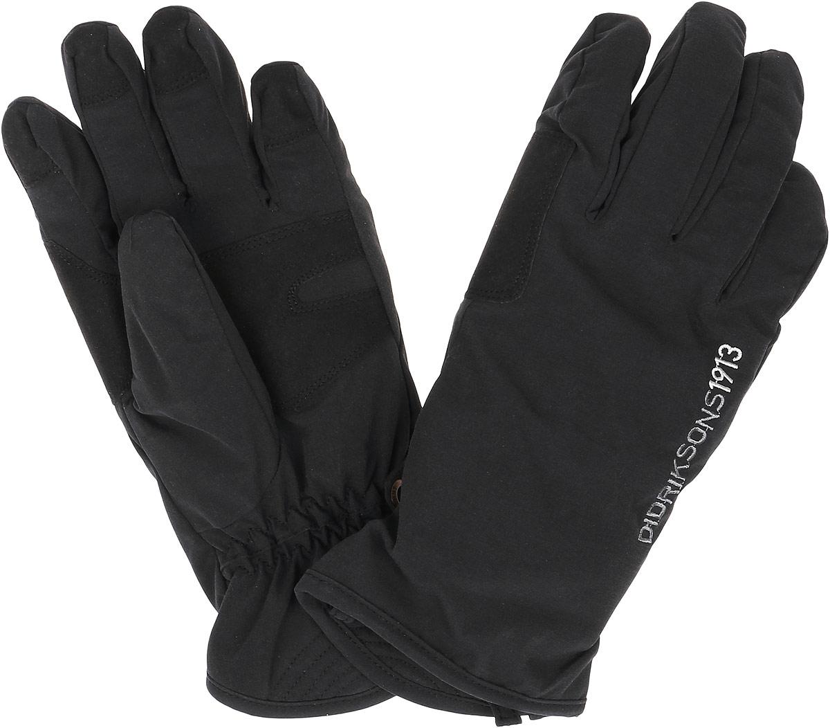 Перчатки592119_060Теплые перчатки Didriksons1913 Crest, изготовленные из непромокаемой и не продуваемой мембранной ткани с утеплителем 60 г/м2, станут идеальным вариантом для холодной зимней погоды. На подкладке используется полиэстер, который хорошо удерживает тепло. На ладошках перчатки дополнены усиленными вставками. Также на запястье - резиночки, которые предотвращают попадание холодного воздуха или снега. Лицевая сторона модели дополнена надписью бренда.