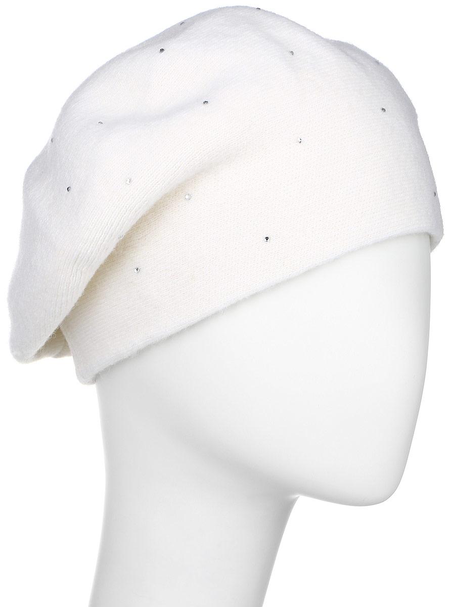 БеретW16-11122_711Элегантный берет Finn Flare, выполненный из шерсти с добавлением нейлона отлично дополнит ваш образ в холодную погоду. Сочетание материалов максимально сохраняет тепло и обеспечивает удобную посадку. Модель выполнена в лаконичном стиле и оформлена небольшим декоративным элементом в виде металлической пластины с названием бренда и стразами спереди.