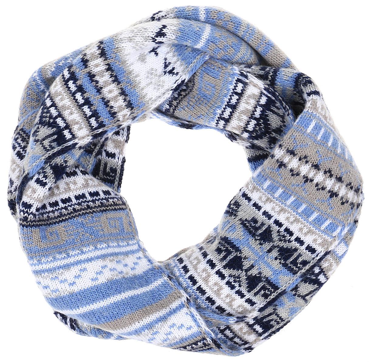 ШарфW16-12120_200Шарф Finn Flare станет отличным дополнением к вашему гардеробу в холодную погоду. Шарф, выполненный из акрила с добавлением альпаки и шерсти, очень мягкий, теплый и приятный на ощупь. Модель оформлена оригинальным принтом и дополнена металлической пластиной с названием бренда. Современный дизайн и расцветка делают этот шарф модным и стильным аксессуаром. Он подарит вам ощущение тепла, комфорта и уюта.