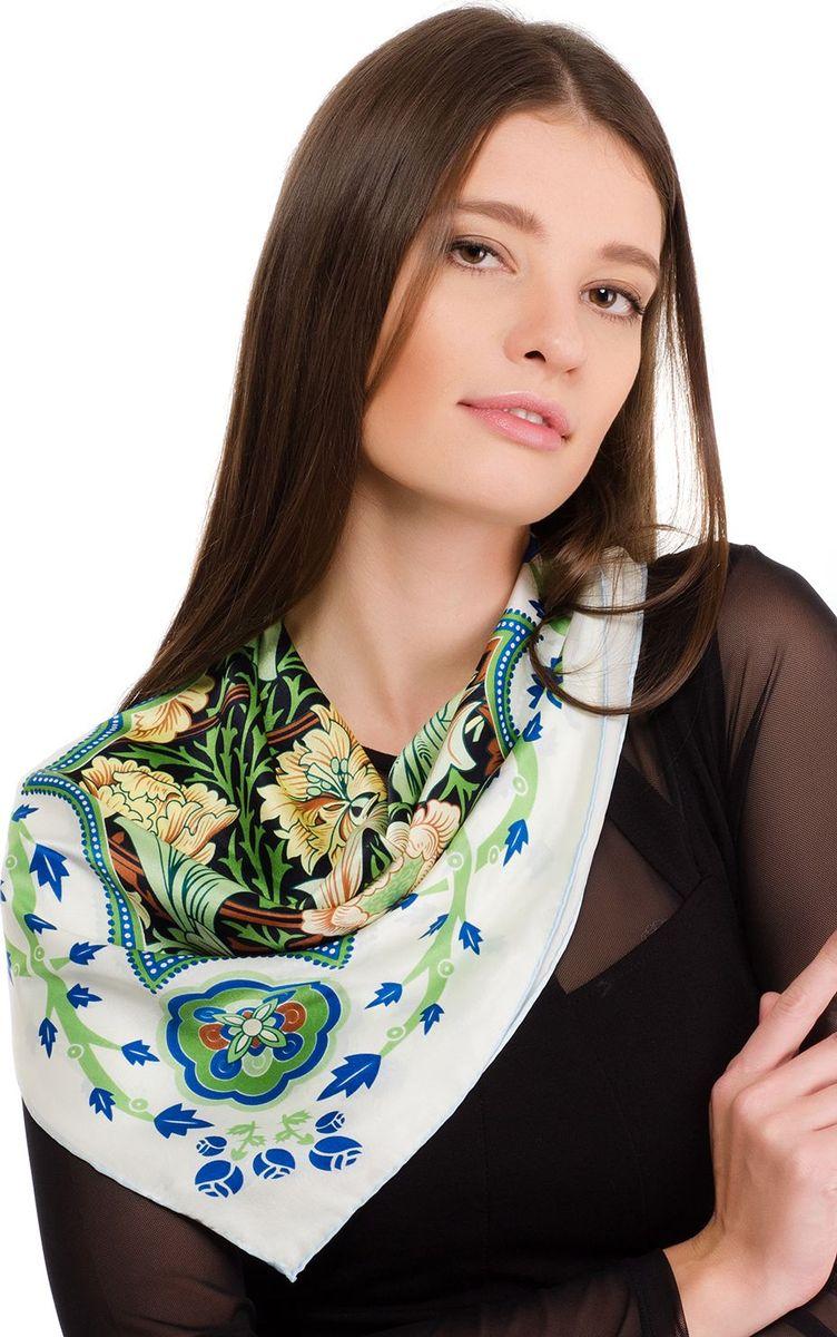 Платок2107EПлаток от Laccom, выполненный из высококачественного материала, приятный на ощупь и подойдет к любому стилю. Платок оформлен очаровательным принтом.