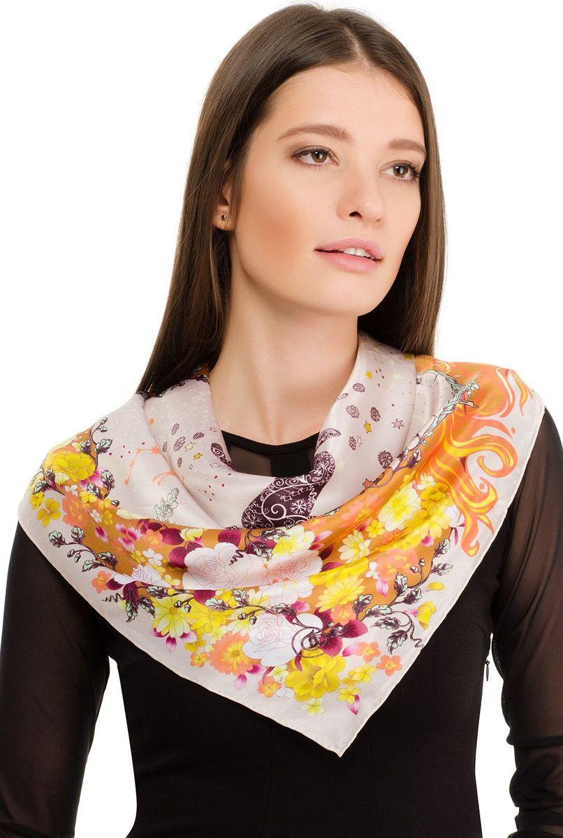 Платок2108BПлаток от Laccom, выполненный из высококачественного материала, приятный на ощупь и подойдет к любому стилю. Платок оформлен цветочным принтом.