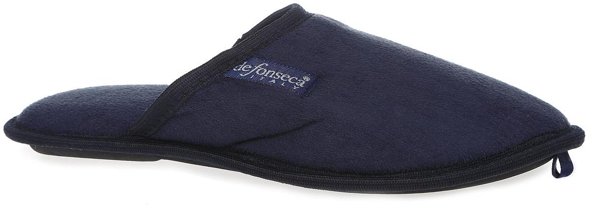 BARI-M01Мужские ароматизированные очень мягкие и удобные тапки от De Fonseca выполнены из ворсистого текстиля. Стелька и внутренний материал из мягкого текстиля обеспечат уют и тепло. Резиновая подошва оснащена противоскользящим рифлением.