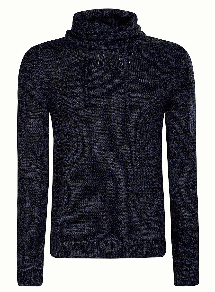 Свитер4L303015M/39797N/1200MМужской свитер oodji выполнен из 100% акрила. Модель с воротником-гольф и длинными рукавами. Край воротника дополнен шнурком-кулиской. Манжеты рукавов и низ модели связаны резинкой.