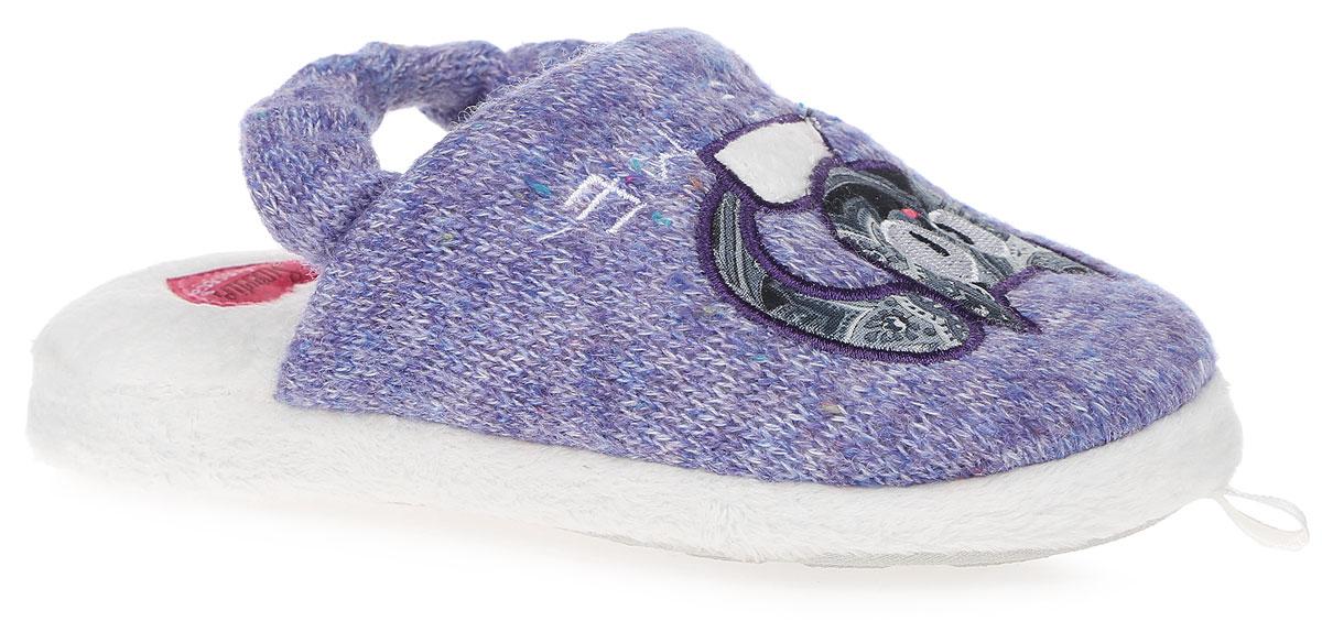 SWEETGI61Детские ароматизированные тапки от De Fonseca выполнены из натурального дышащего материала, оформлены оригинальной аппликацией. Пяточная резинка обеспечивает надежную фиксацию модели на ноге. Стелька из ворсистого мягкого текстиля обеспечит тепло и уют. Рифление на подошве обеспечивает идеальное сцепление с любой поверхностью.