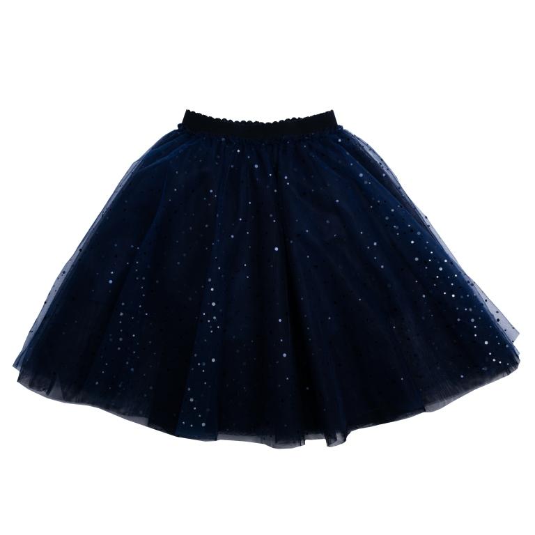 462029Пышная юбка-пачка. Выполнена из легкого сетчатого материала. Хлопковая подкладка обеспечивает максимальное удобство, пояс на мягкой резинке. Украшена россыпью сверкающих пайеток.