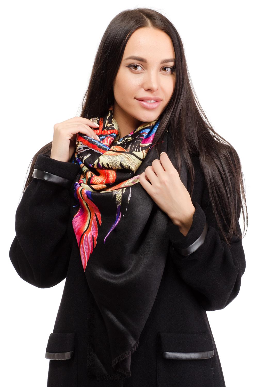 Платок10B-1605Элегантный платок Moltini изготовлен из 100% вискозы. Оформлена модель ярким принтом.